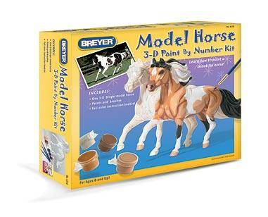 Breyer - 3D Paint-by-Number Activity Kit -Pinto