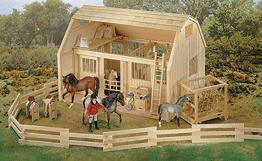 Breyer - Wood Corral