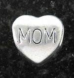 Joppa Mom Heart Bead