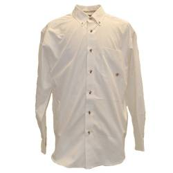 Ariat Twill Shirt - Mens, White or Khaki