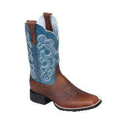 Ariat Ladies Brown Oiled Rowdy Quickdraw Western Boot