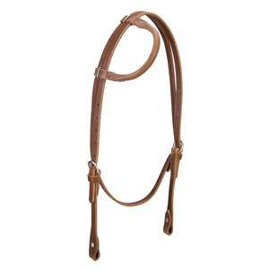 Weaver Horizons Rolled Sliding Ear Headstall