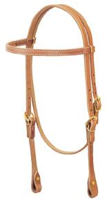 Weaver Single-Ply Browband Headstall