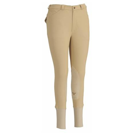 TuffRider Mens Ribb Patrol Riding Breeches