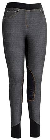Tuffrider Newbury Pull On Denim Breech - Ladies