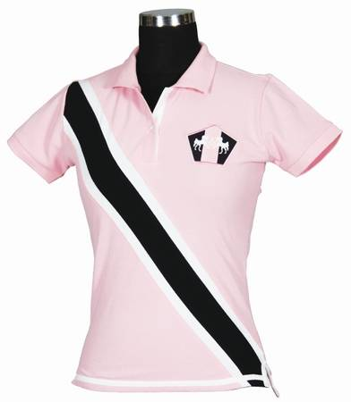 Equine Couture Ladies Bermuda Short Sleeved Polo Shirt