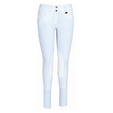 Equine Couture Ladies Debbie Stephens Signature Knee Patch Riding Breeches