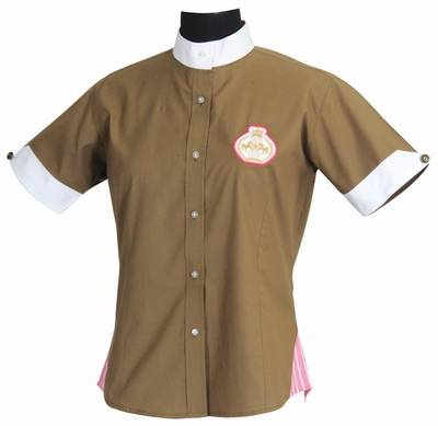 Equine Couture Ladies Paxton Short Sleeve Show Shirt