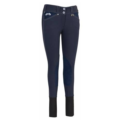 Equine Couture Ladies Blakely Breeches - Knee Patch