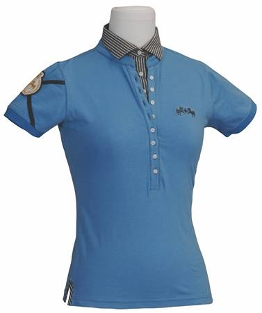 Equine Couture Ladies Chloe Layered Polo Shirt