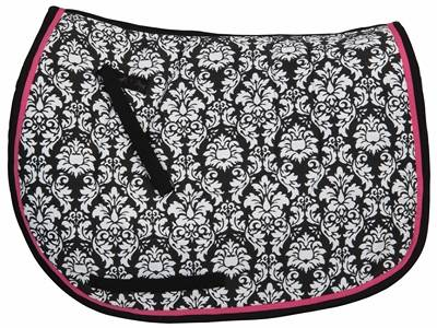 Equine Couture Damask A/P Saddle Pad