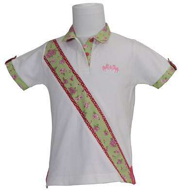 Equine Couture Kids Bindia Polo Shirt
