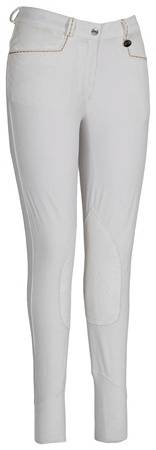 Equine Couture Performance Breeches - Ladies, Knee Patch