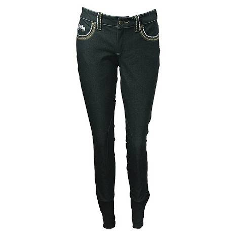Equine Couture Ladies Jessie Knee Patch Breech