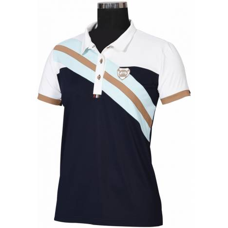Equine Couture Ladies Bayside Short Sleeve Polo Shirt
