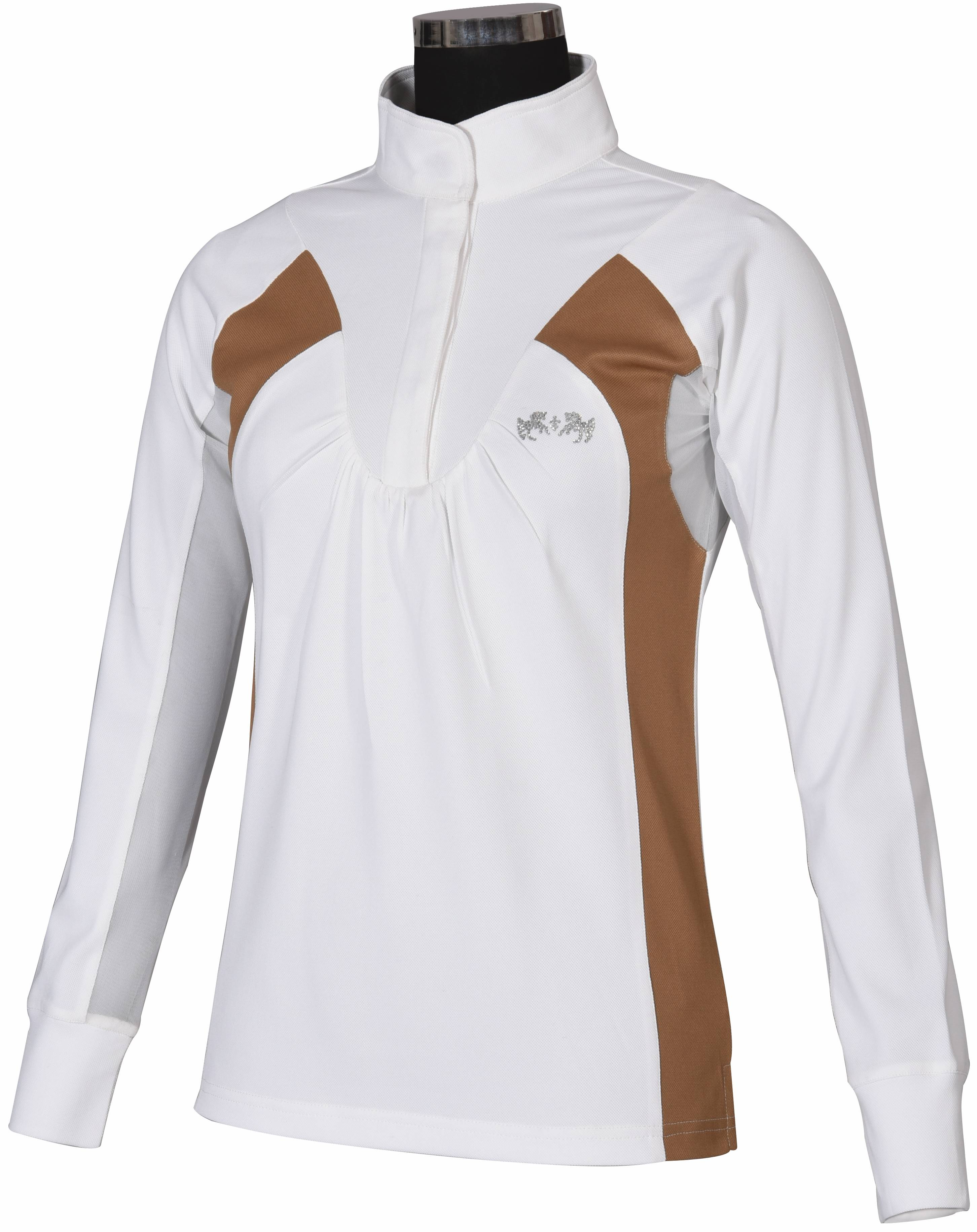Equine Couture Ladies Fiona Show Shirt