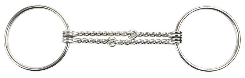 Korsteel Loose Ring Offset Double Twisted Wire