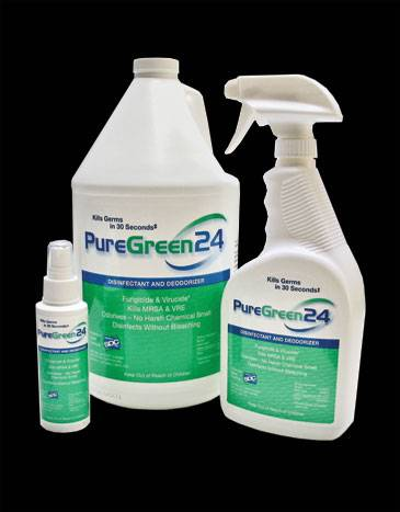 PureGreen 24 Disinfecting Spray