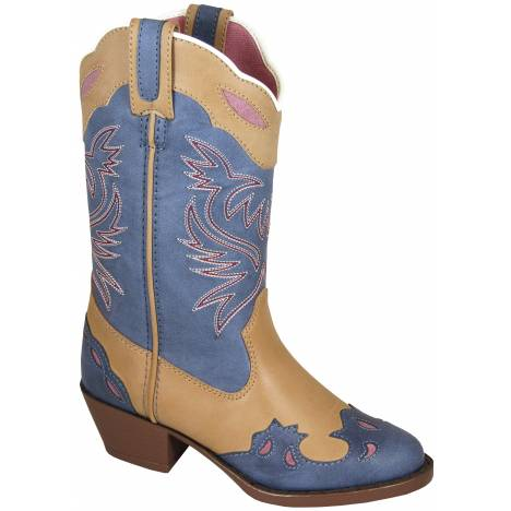 Smoky Mountain Lila Boots - Childrens - Blue/Tan