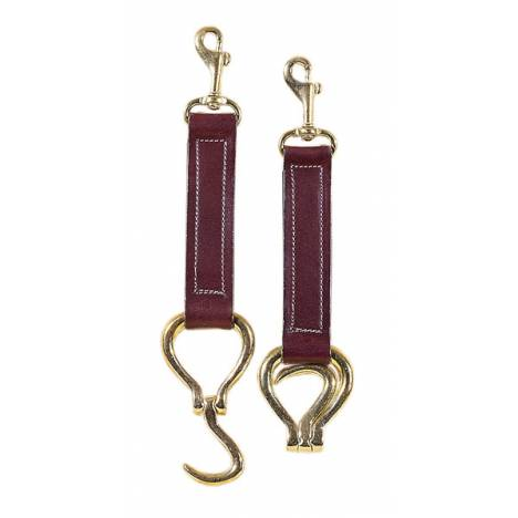 TORY LEATHER Brass Folding Hoof Pick Key Fob