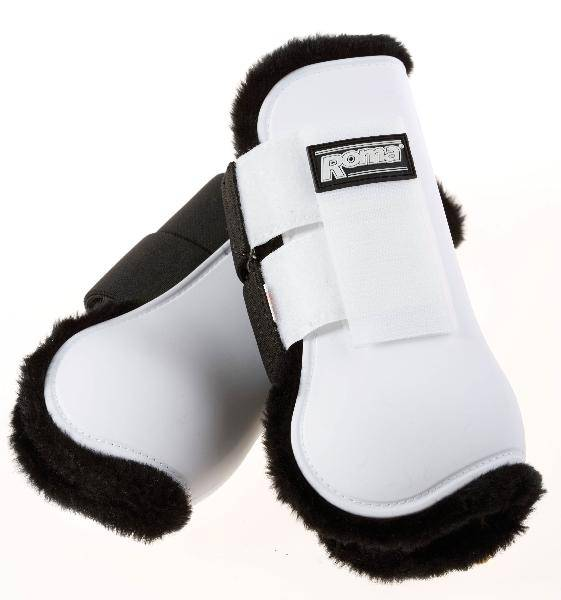 Roma Fleece :ined Open Front Boots