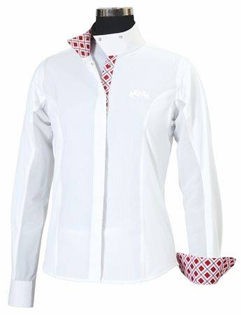 Equine Couture Jenna Show Shirt - Ladies