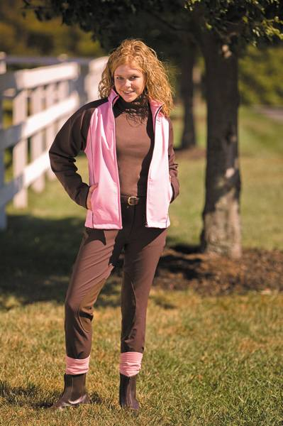 Tuffrider Ladies Active Soft Shell Riding Breeches
