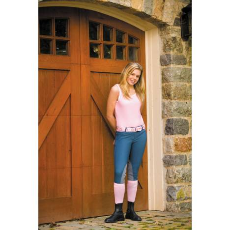 Tuffrider Ladies Ribb Lowrise Riding Breeches