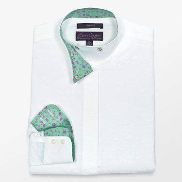 Essex Cassselton Wrap Collar Show Shirt - Girls