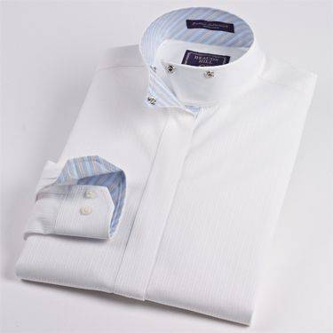 Beacon Hill Fantasy Wrap Collar Shirt - Ladies