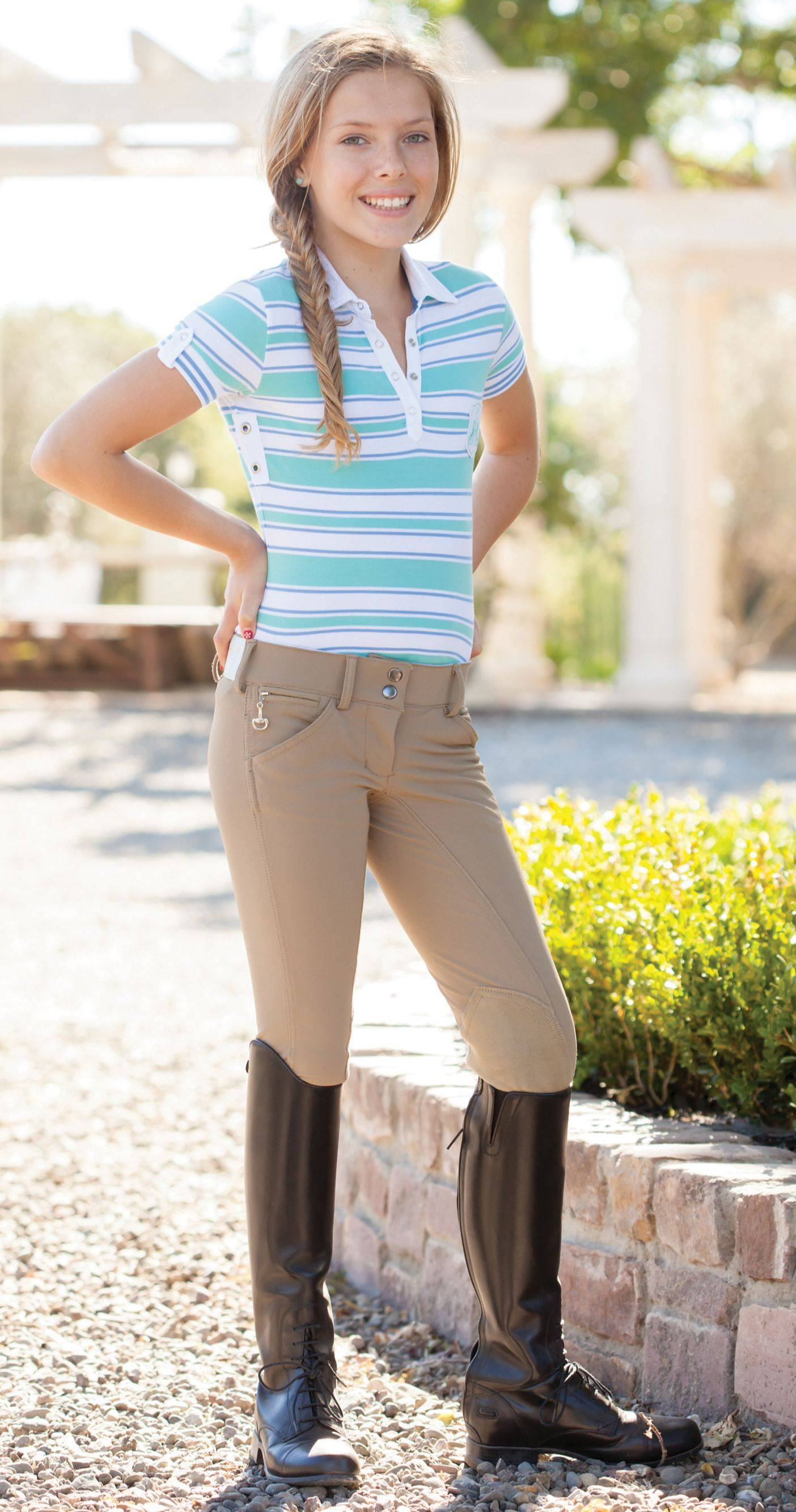 Goode Rider Heritage Polo - Girls