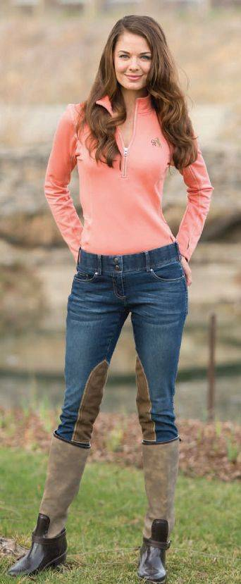 Goode Rider Equestrian Jeans - Ladies, Knee Patch