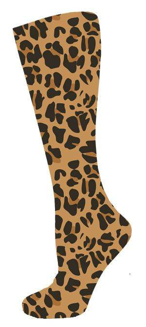InkStables Tall Boot Socks - Ladies, Leopard