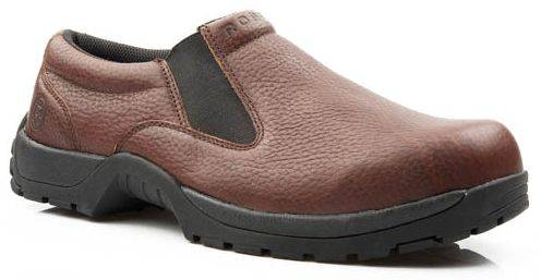 Roper Rugged Outsole Slip On - Mens, Brown