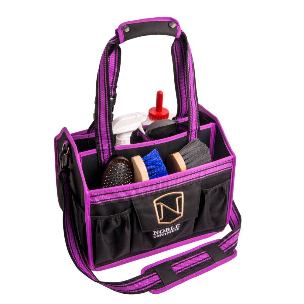 Noble Outfitters EquineEssential Grooming Tote - Black Berry
