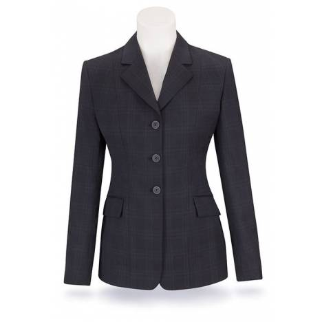 RJ Classics Prestige Show Coat - Girls, Navy Plaid