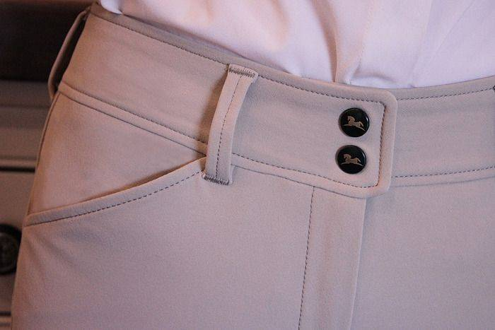 RJ Classics Prestige Gulf Low Rise Breeches - Ladies, EuroSeat, Sand