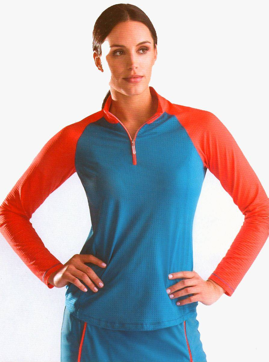 Bette & Court Colorblocked Cool Elements - Ladies, Long Sleeve