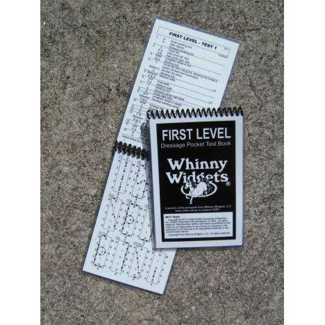 Whinny Widgets 2015 Dressage Test Book - 1st Level