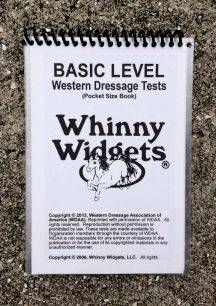 Whinny Widgets 2015 Western Dressage Test Book - Basic Level