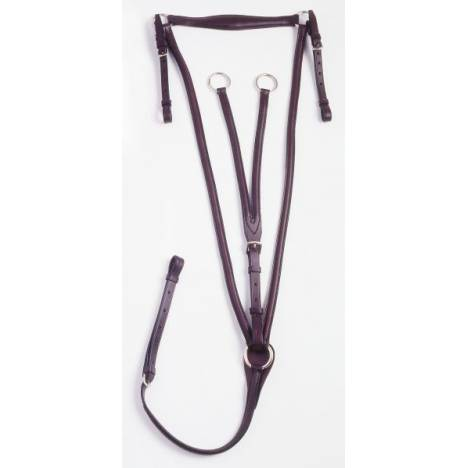 Silver Fox Running Breastplate Martingale