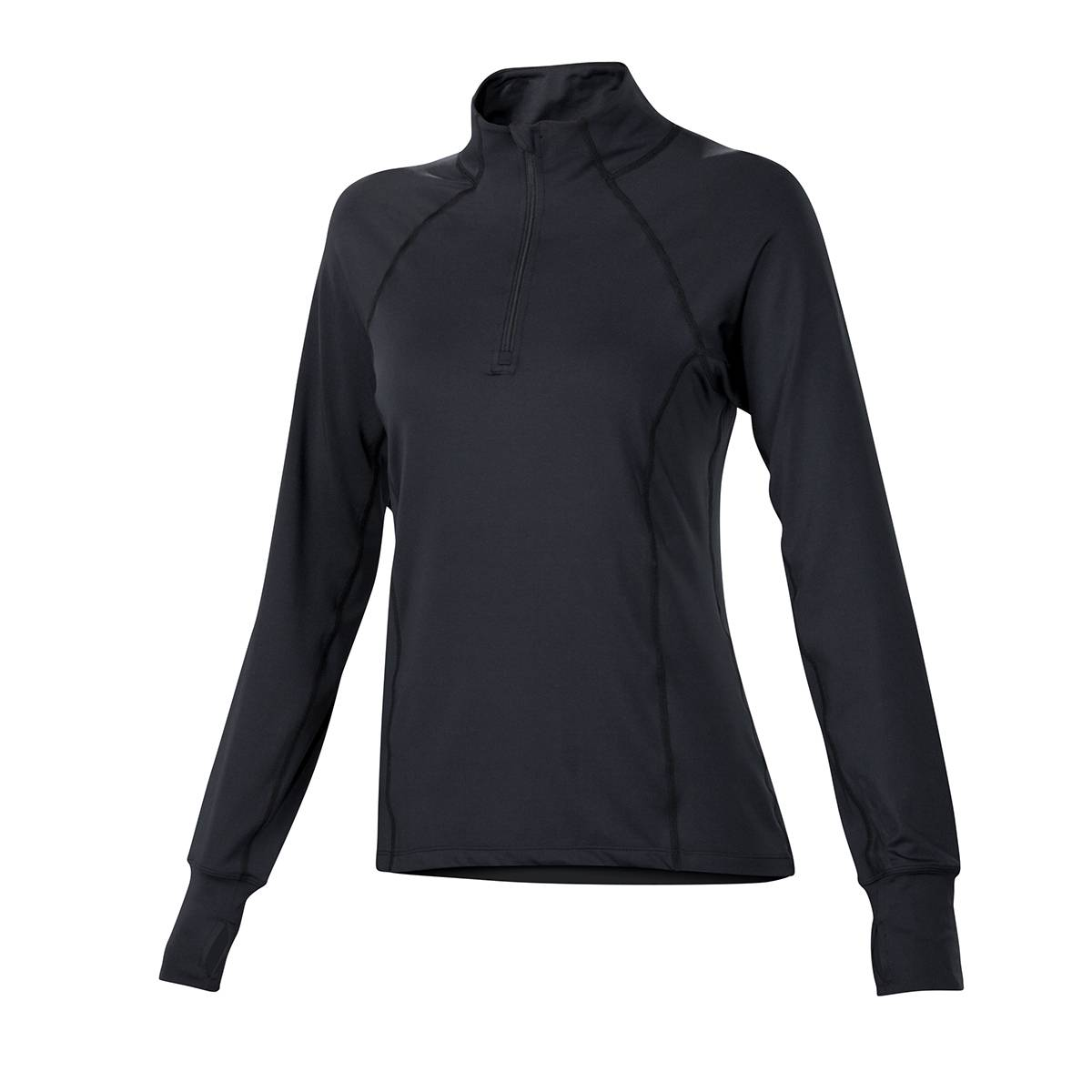 NE Ladies Josie Qtr Zip Mock