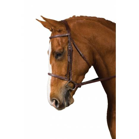 Collegiate Collection Square Raised Bridle with Reins