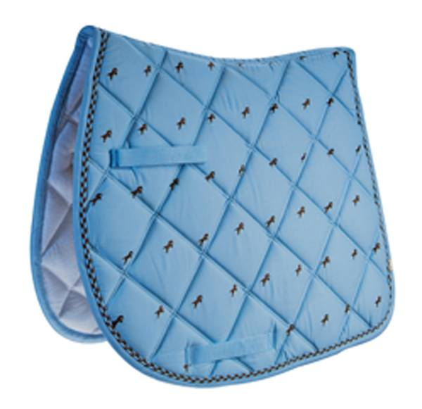 Lettia Embroidered Saddle Pads
