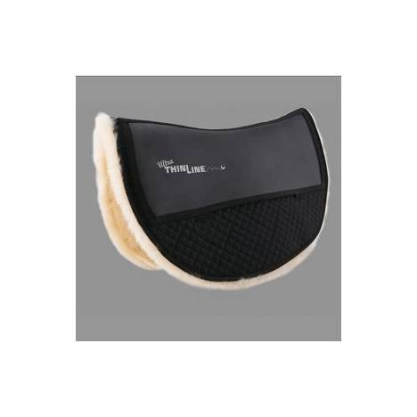 Ultra Thinline Sheepskin Comfort Western Saddle Pad