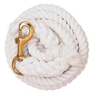 Weaver Cotton Lead Rope with Solid Brass Snap
