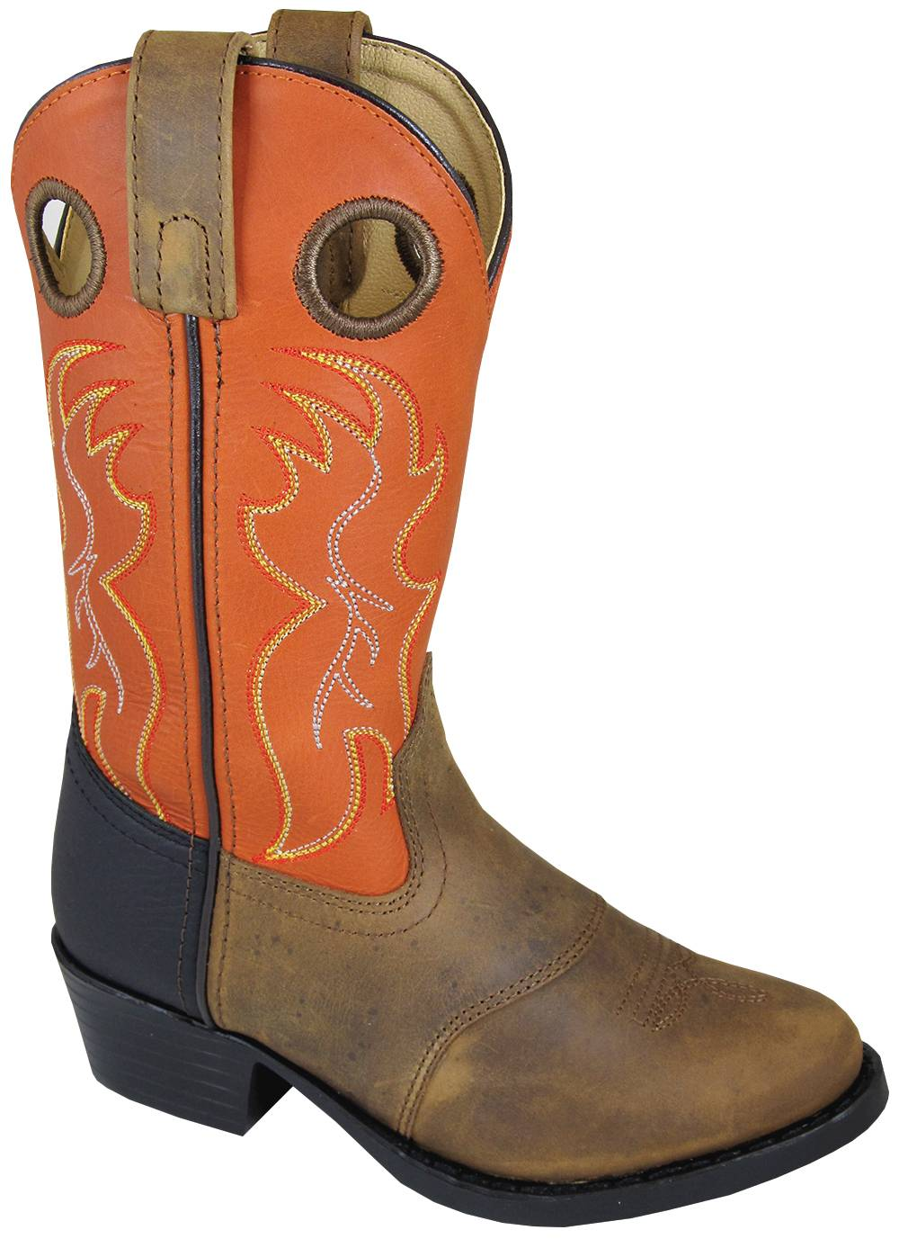 Smoky Mountain Thomas Boots - Children's - Brown/Orange