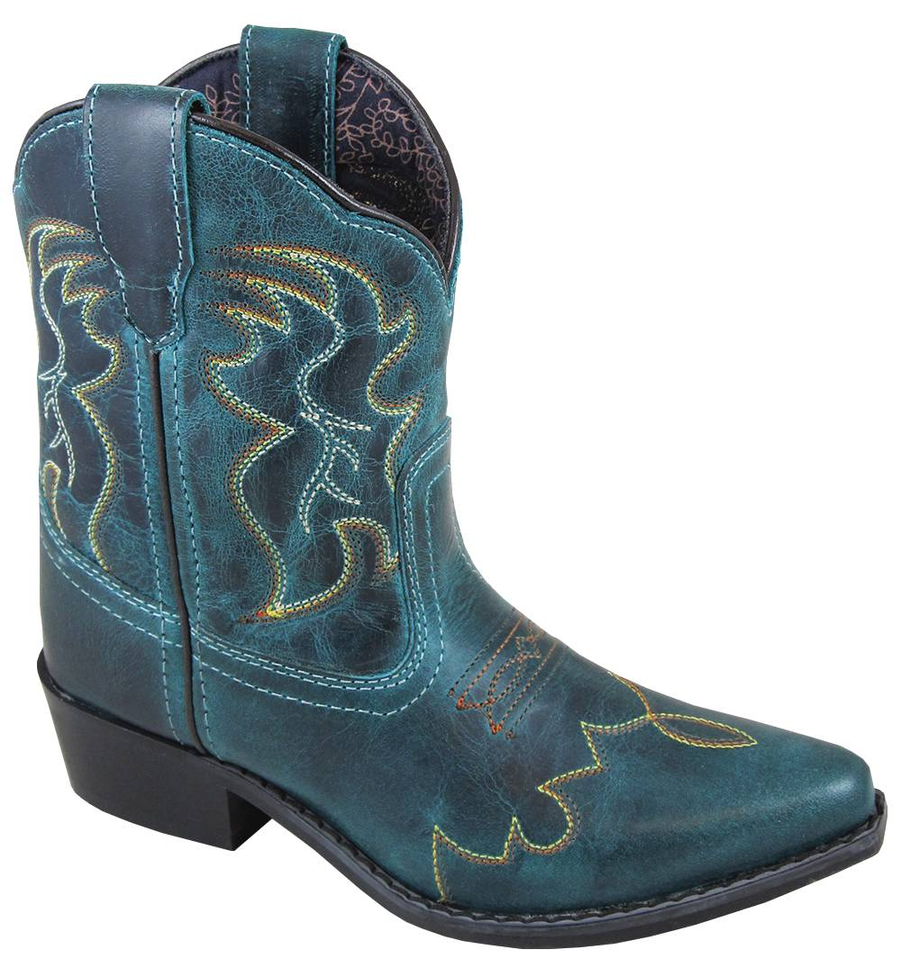 Smoky Mountain Juniper Boots - Youth - Dark Turquoise