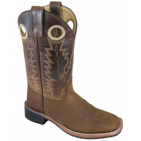 Smoky Mountain Jesse Boots - Youth - Brown