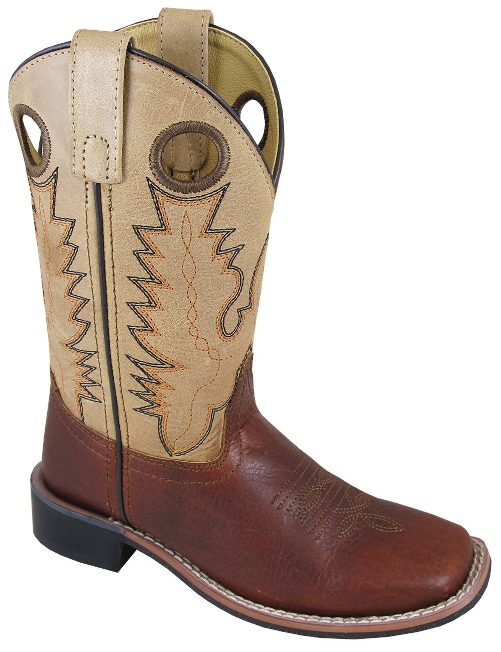Smoky Mountain Jesse Boots - Children's - Brown/Tan